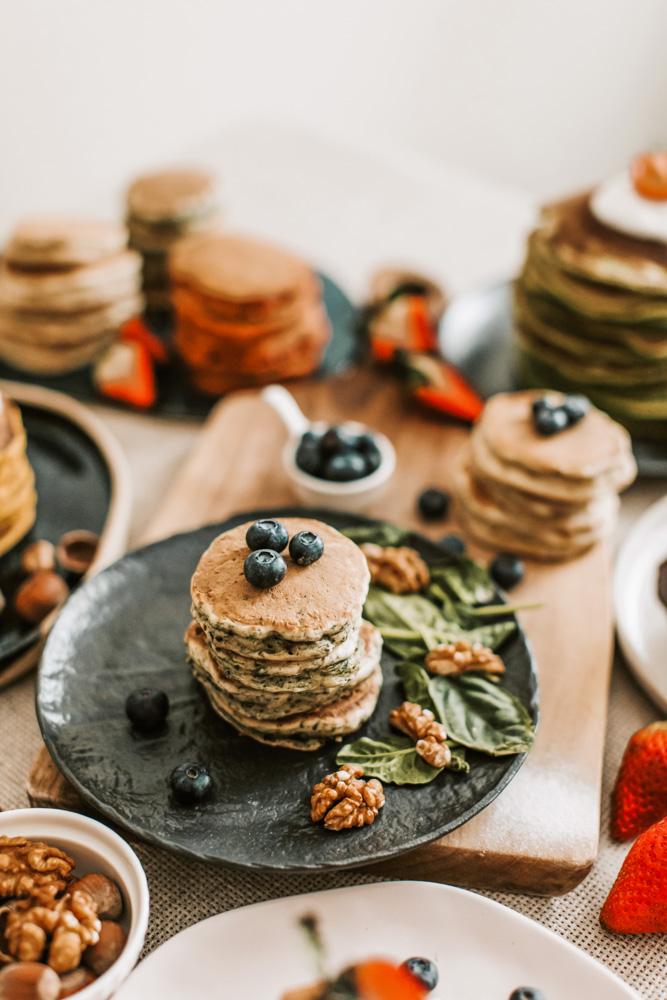 Blueberry Buckwheat Pancake Mix Recipe
