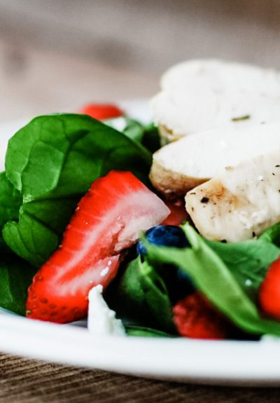 Fresh Spinach Salad Recipes: Strawberry, Blueberry, and Spinach Salad