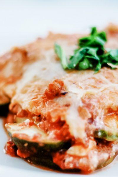 Recipe: Zucchini Lasagna