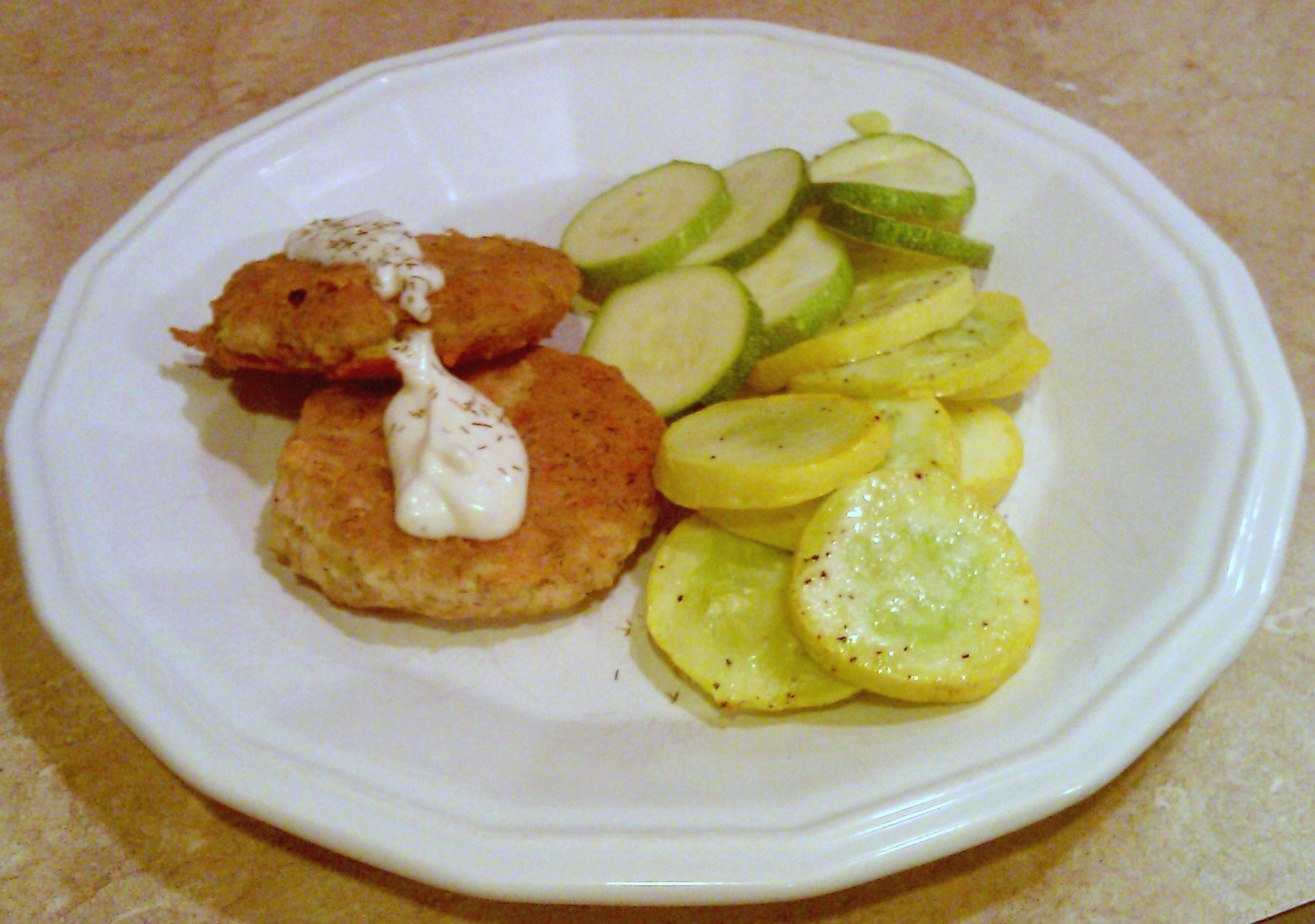 Tuna Patties with Sauce Recipe