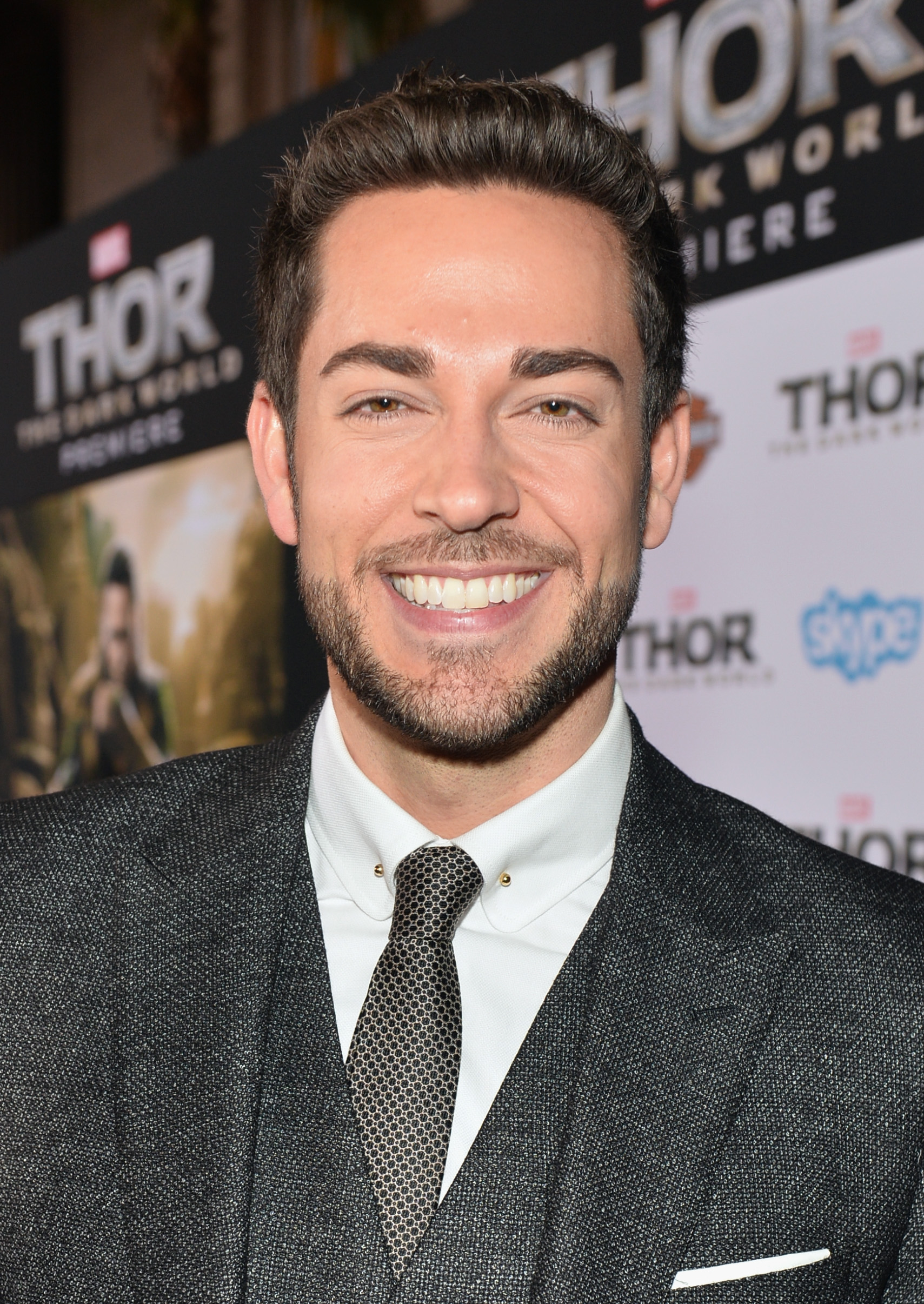 Zachary Levi on the Red Carpet Photo Credit: DreamWorks