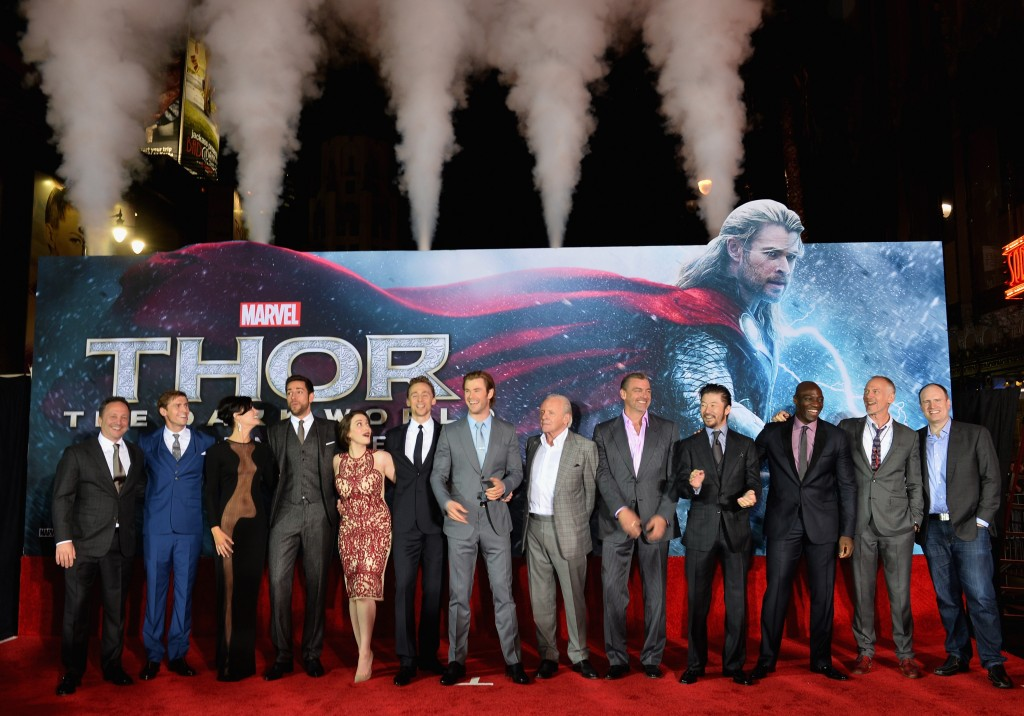 Thor Dark World Red Carpet at El Capitan Theatre