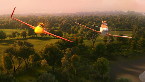 Fly Behind the Scenes of Disney's PLANES