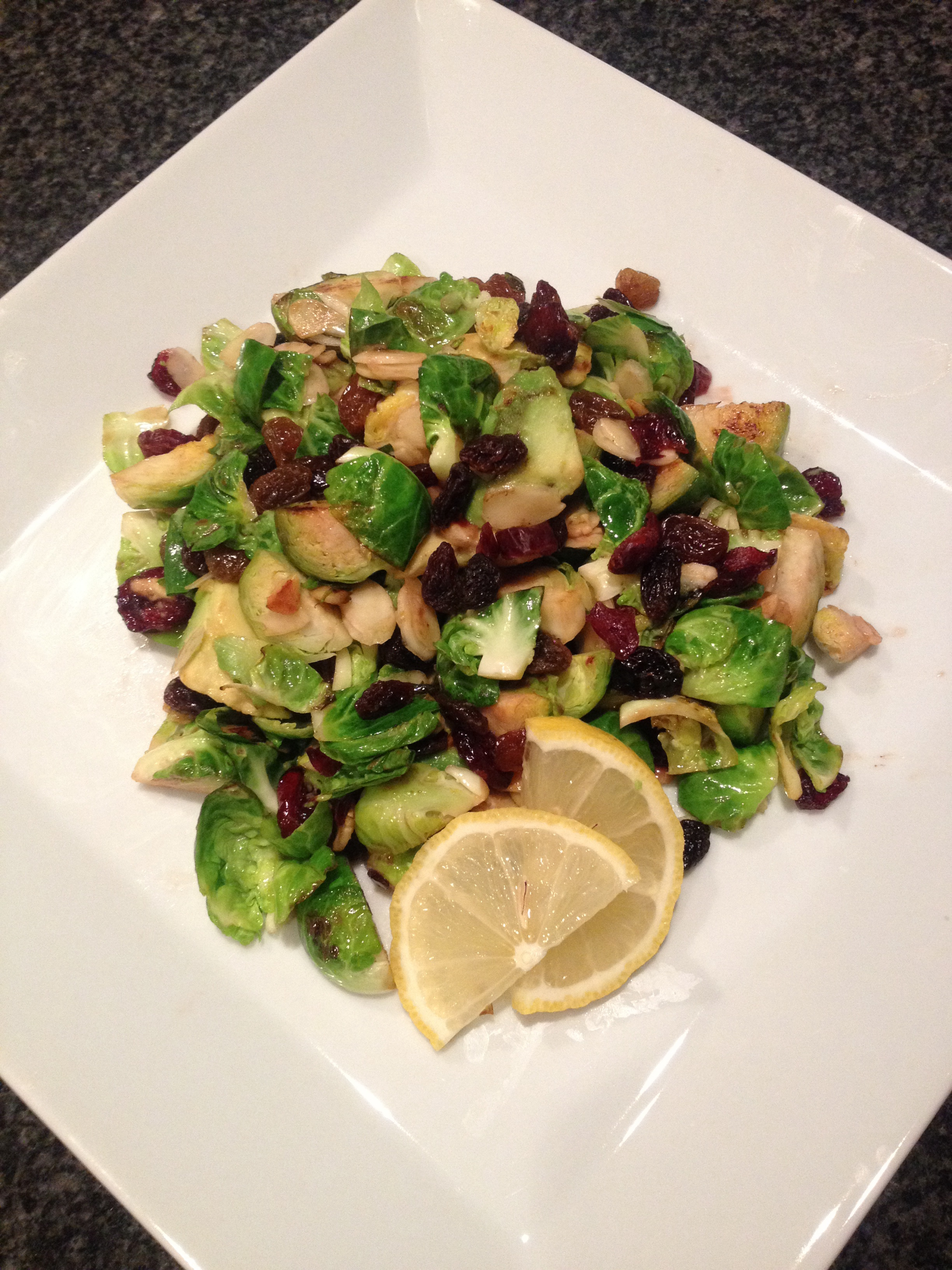 Recipe for Brussel Sprout Salad