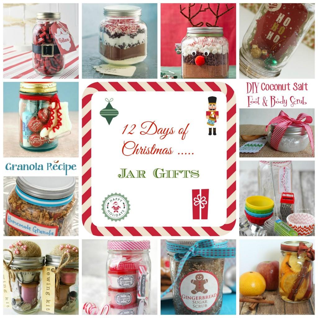 Jarred Christmas Gifts: 12 Days Of Christmas