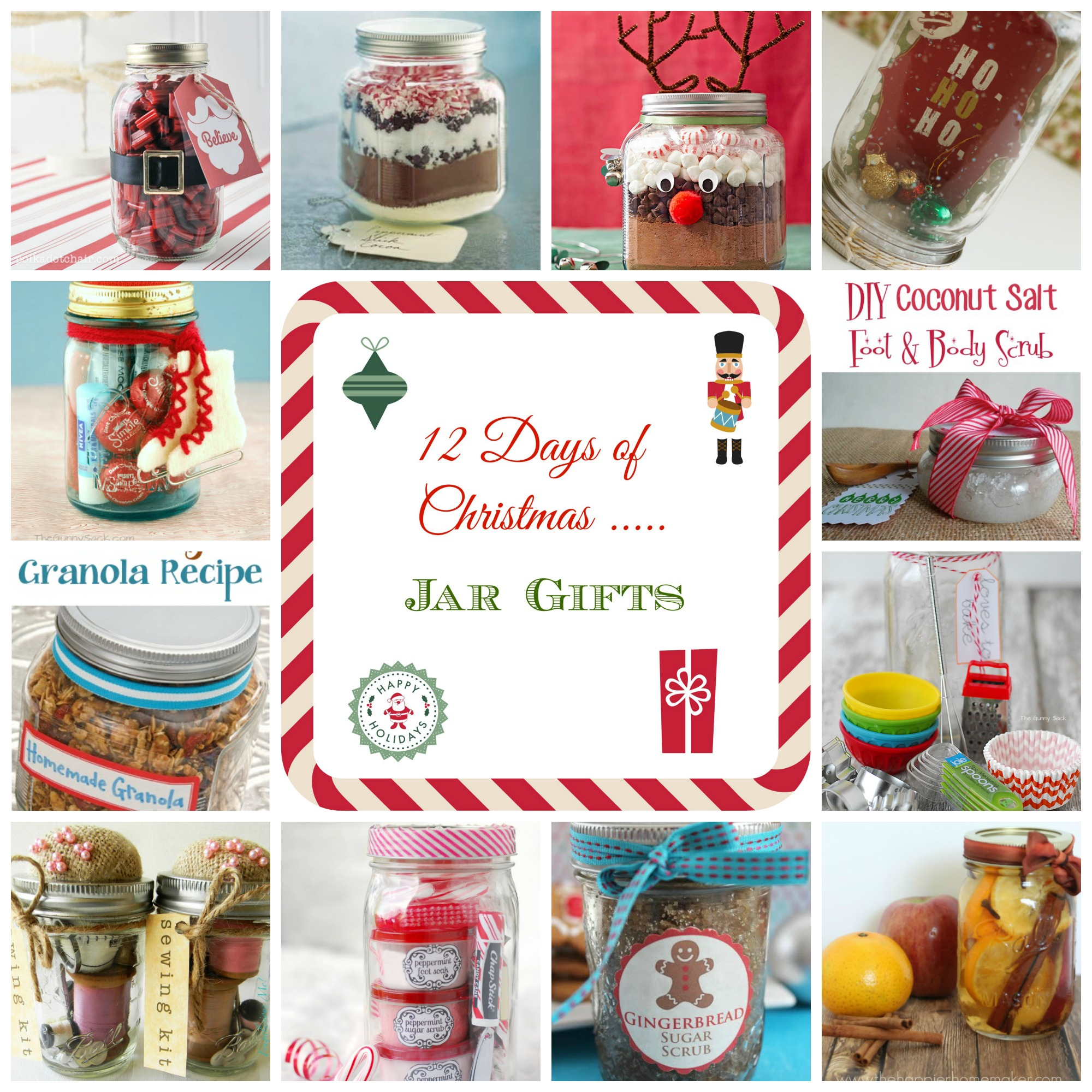 12 Days of Christmas – Jar Gifts