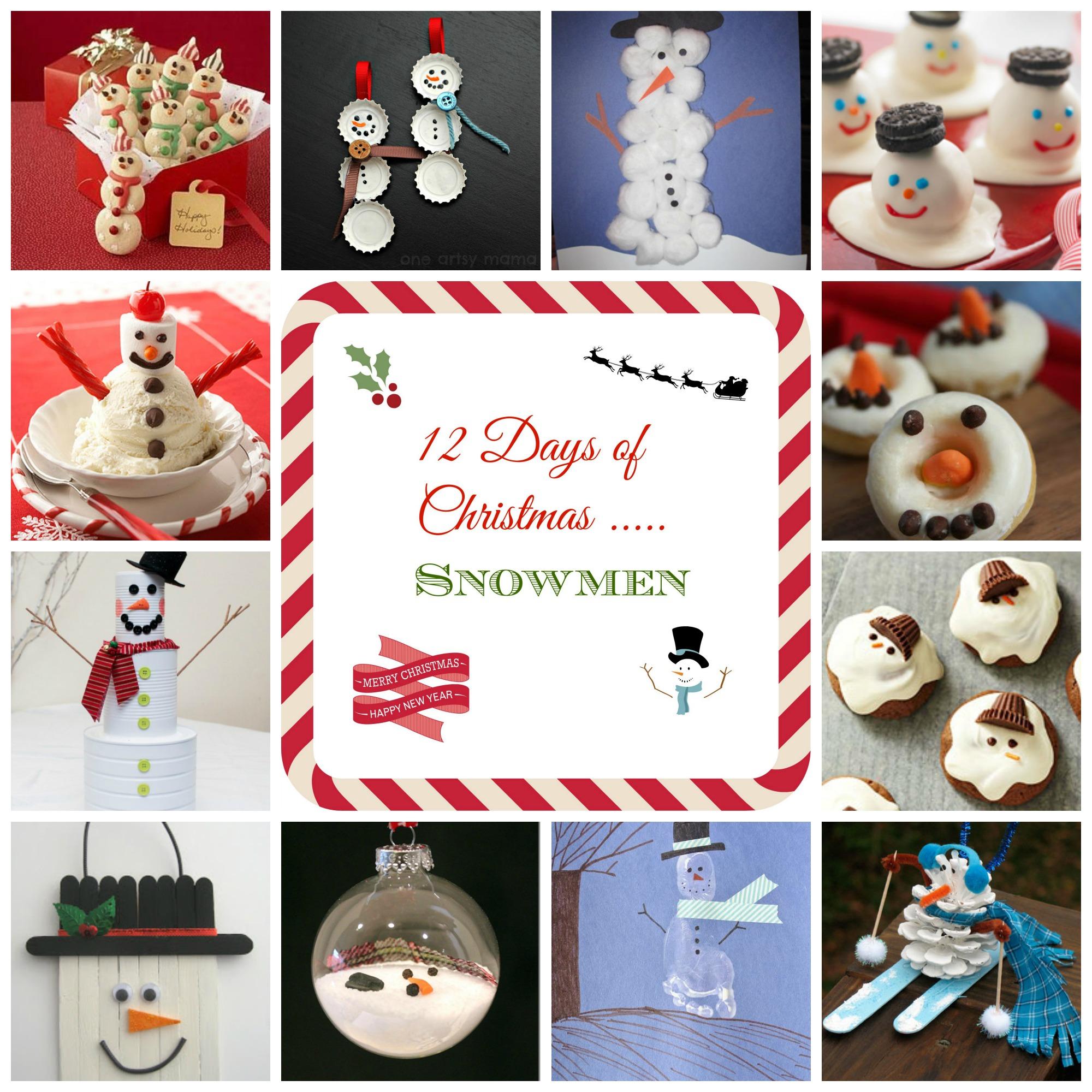 12 Days of Christmas - Snowmen