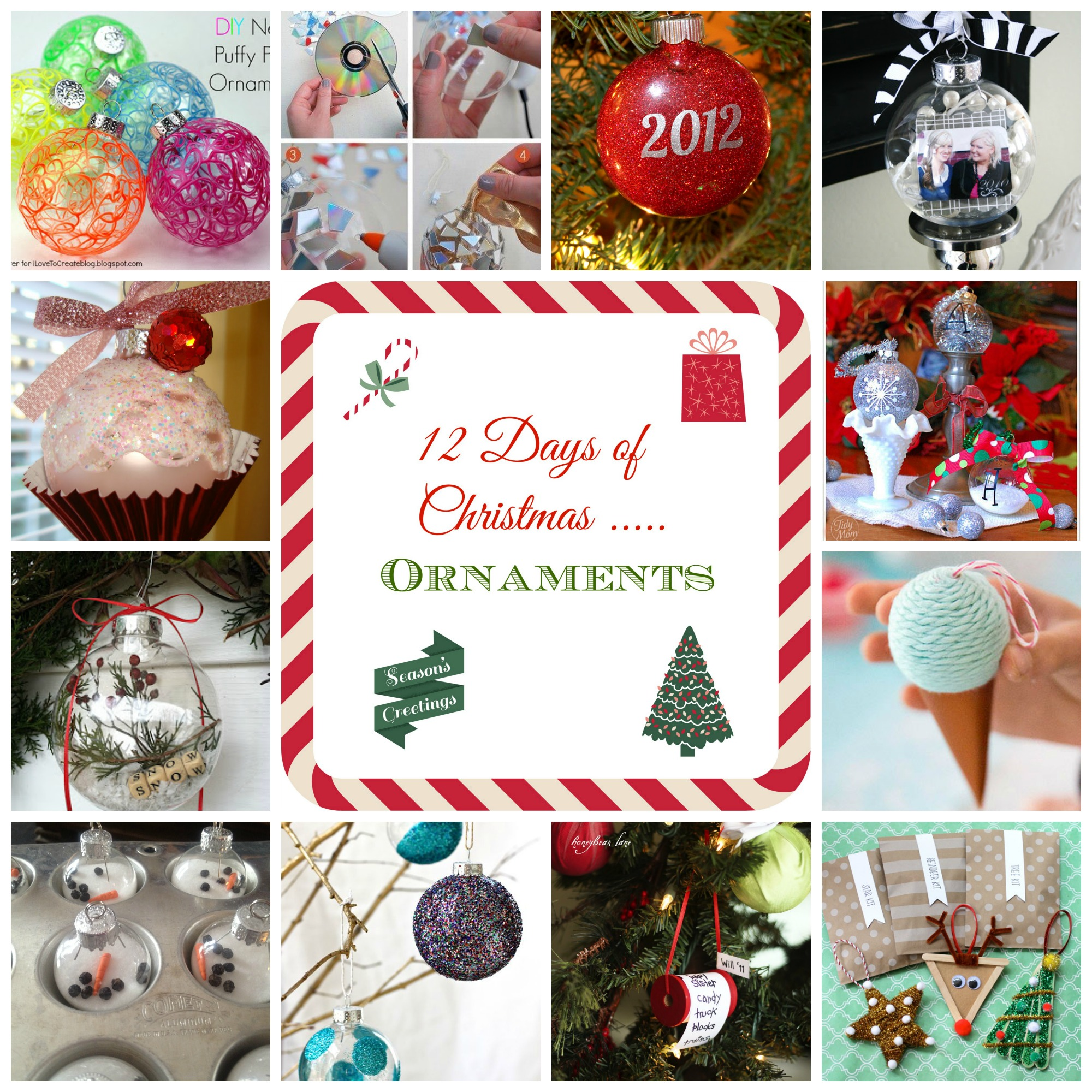 12 Days of Christmas - Ornaments