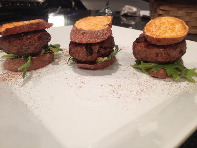 Baked Sweet Potato Recipes - Sweet Potato Barbecue Sliders