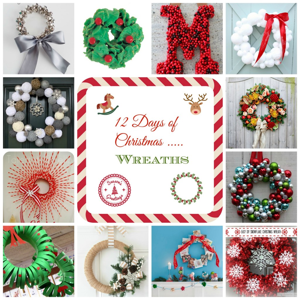 12 Days of Christmas - Wreaths