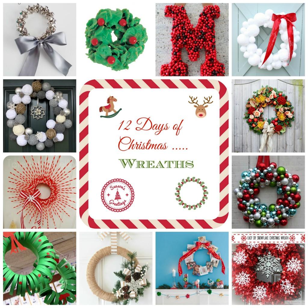 12 Days of Christmas - Wreaths