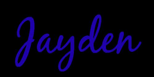 Signature Jayden