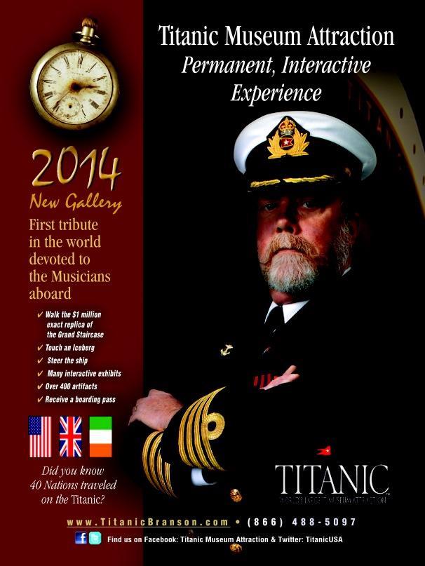 The Titanic Museum and Acrobats of China Branson, MO #ExploreBranson