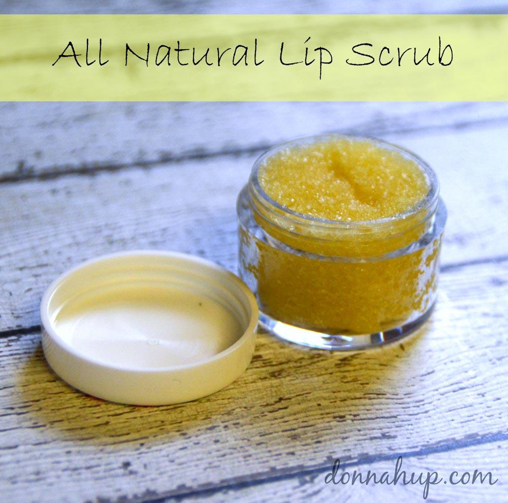 Make your own All Natural Lip Scrub