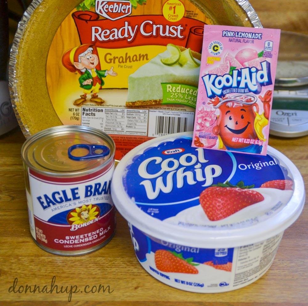 Easy Kool-Aid Pie