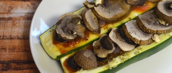 Baked Zucchini Boats Recipe