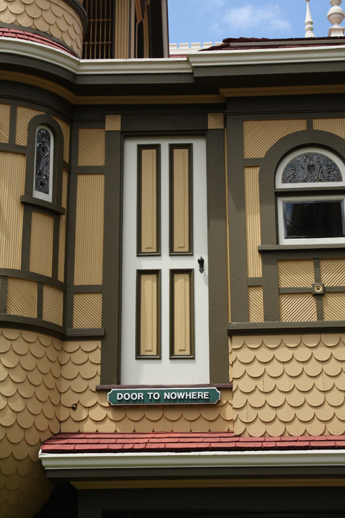 Door to Nowhere Discover the Mystery of Winchester Mystery House in San Jose, CA #travel #review donnahup