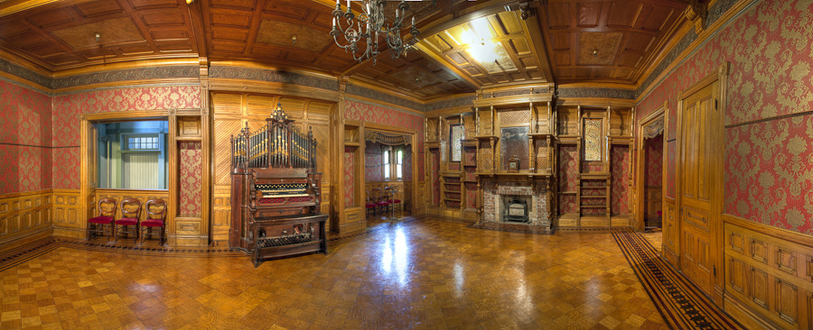 grand ballroom Discover the Mystery of Winchester Mystery House in San Jose, CA #travel #review donnahup