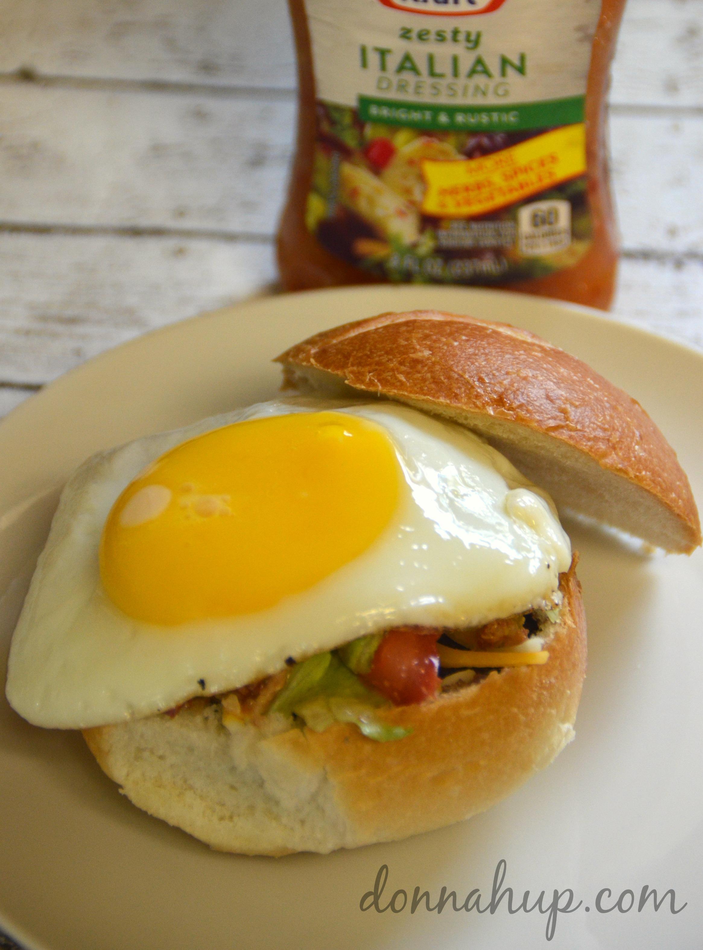 Everything Burger Bowl with Italian Dressing Recipe