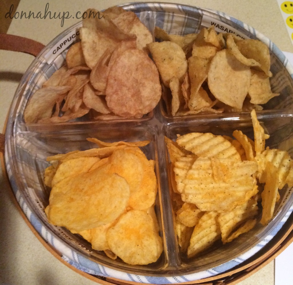 Lay's Do Us a Flavor Chip Tasting & Voting Party #FoundFlavor #SaveBaconMac #NorthIowaBloggers donnahup