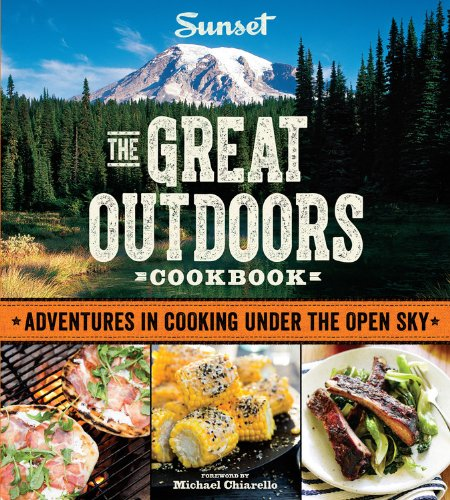 Sunset The Great Outdoors Cookbook #Giveaway