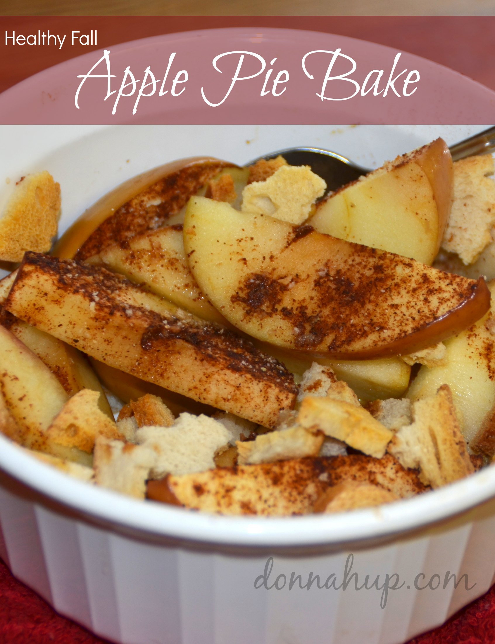 Healthy Apple Pie Bake