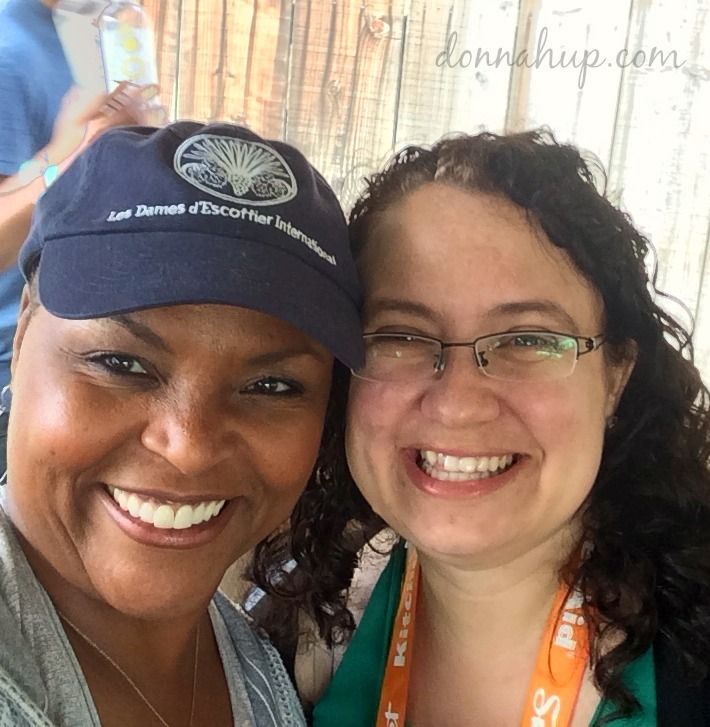 Meeting Tanya Holland at Sunset Savor Food & Wine Festival