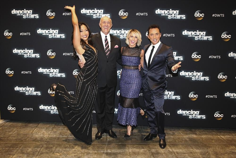 CARRIE ANN INABA, LEN GOODMAN, JULIANNE HOUGH, BRUNO TONIOLI My Dancing with the Stars Experience #DWTS #ABCTVEvent #BigHero6Event #BigHero6 #Mixology101LA #travel #entertainment