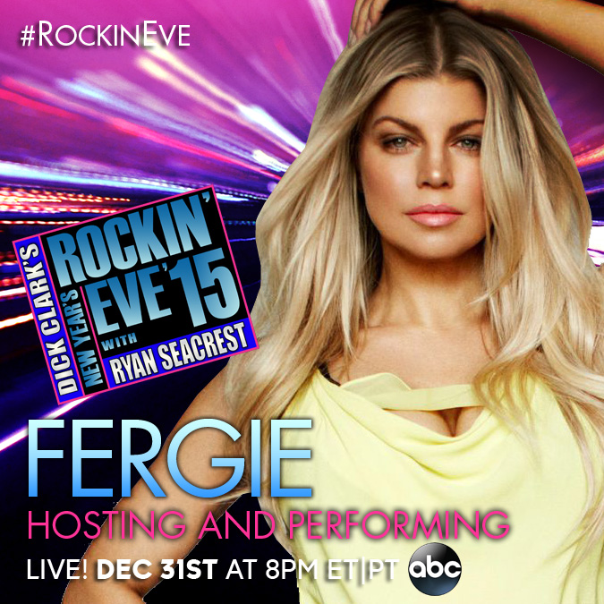 Fergie_NYRE15_Post Advice on Motherhood and Balance with Fergie #Fergie #AMAs #ABCTVEvent #RockinEve