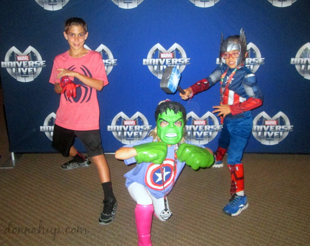 Marvel Universe Live - A Fun Family Experience #MUL #Marvel #entertainment