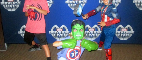 Marvel Universe Live – A Fun Family Experience #MUL