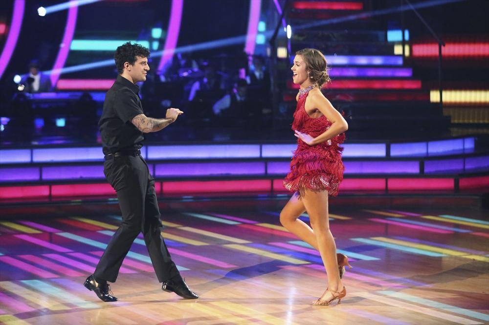 MARK BALLAS, SADIE ROBERTSON My Dancing with the Stars Experience #DWTS #ABCTVEvent #BigHero6Event #BigHero6 #Mixology101LA #travel #entertainment