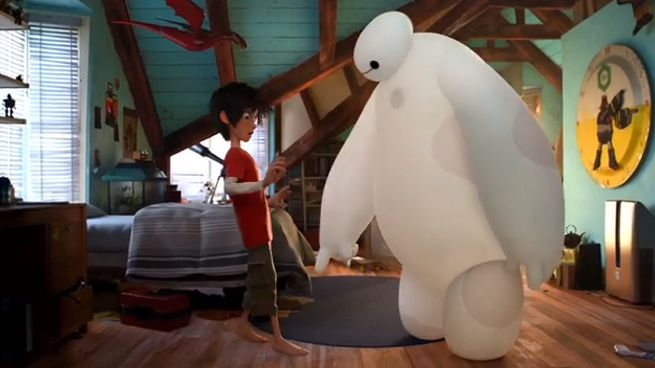 Voicing Baymax from BIG HERO 6 at Disney Animation Studios #BigHero6Event #BigHero6 #MeetBaymax #Balalalala #DreamsReallyDoComeTrue #WhenYouWishUponAStar donnahup
