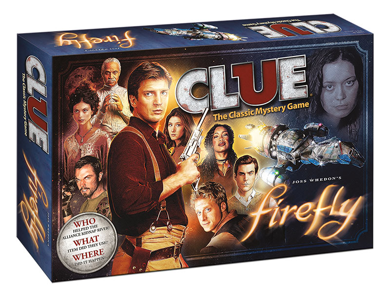 Win a Firefly Clue and Yahtzee Game