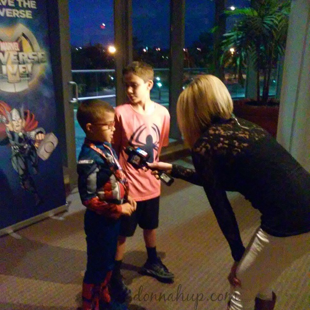 interview Marvel Universe Live - A Fun Family Experience #MUL #Marvel #entertainment
