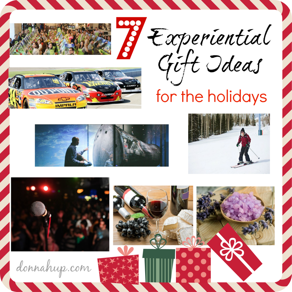 7 Experiential Gift Ideas for the Holidays #LivingSocial #giftguide #shopping