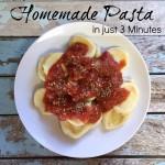 Homemade Pasta Button