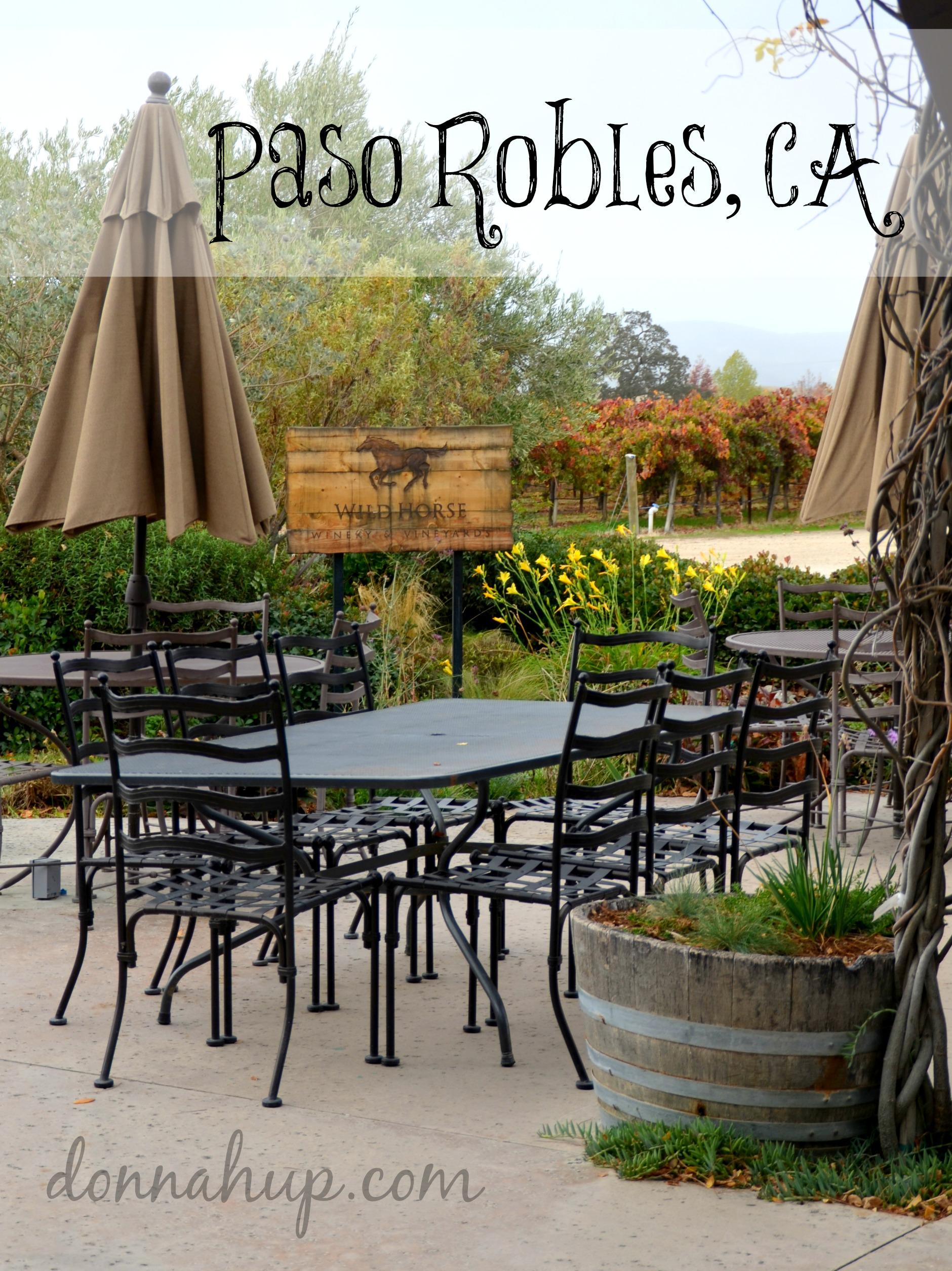 Visiting Paso Robles, CA #Travel #winecountry #California