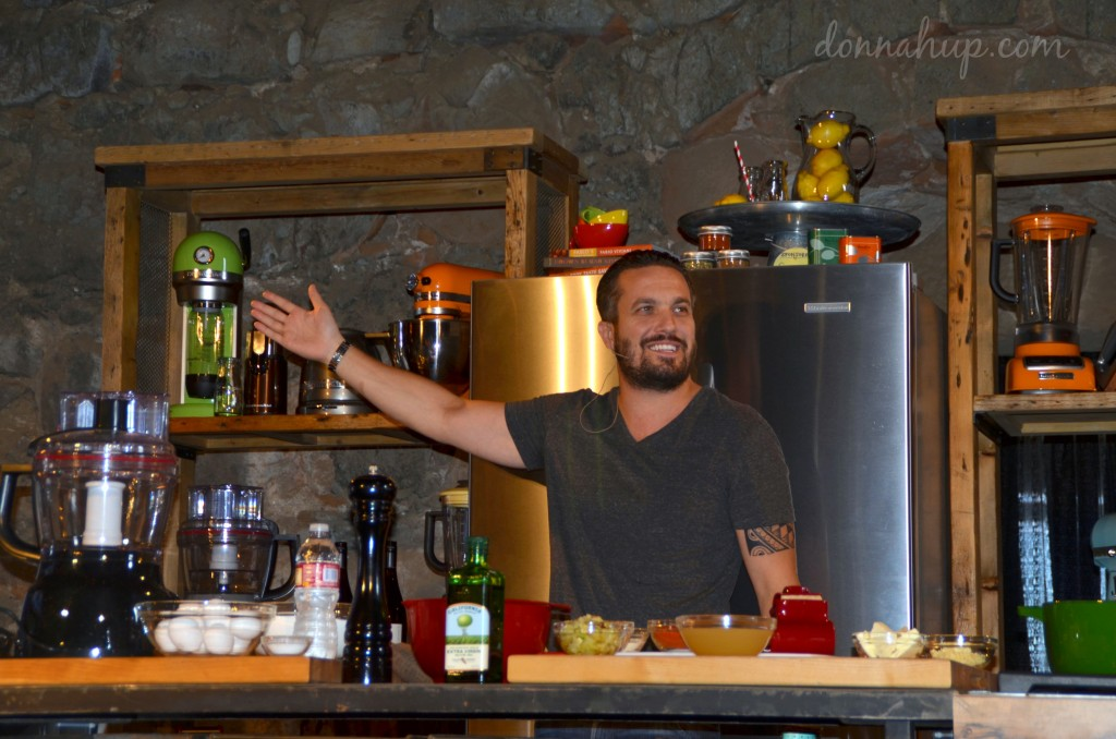 Make Fabio Viviani's Homemade Pasta in just 3 Minutes #recipe #boom #savorCC #SunsetSavor