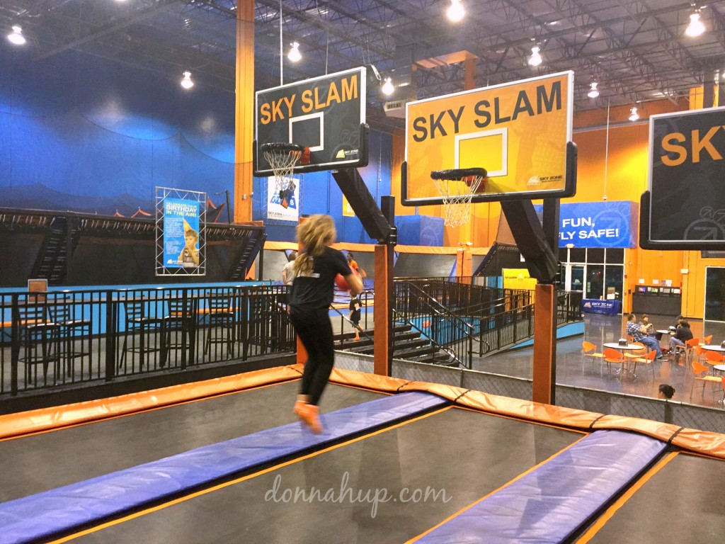Having your Party at SkyZone is a Slam Dunk #review