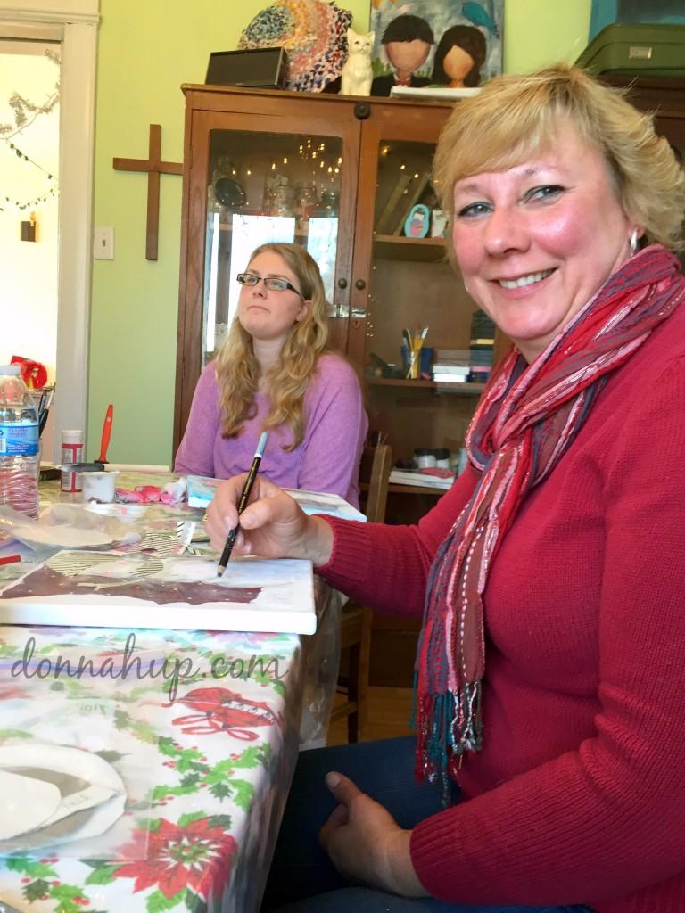 Creativity comes Alive at Kelly Gau Studio #art #creativity #NorthIowa #Iowa #NorthIowaBloggers #KellyGauStudio