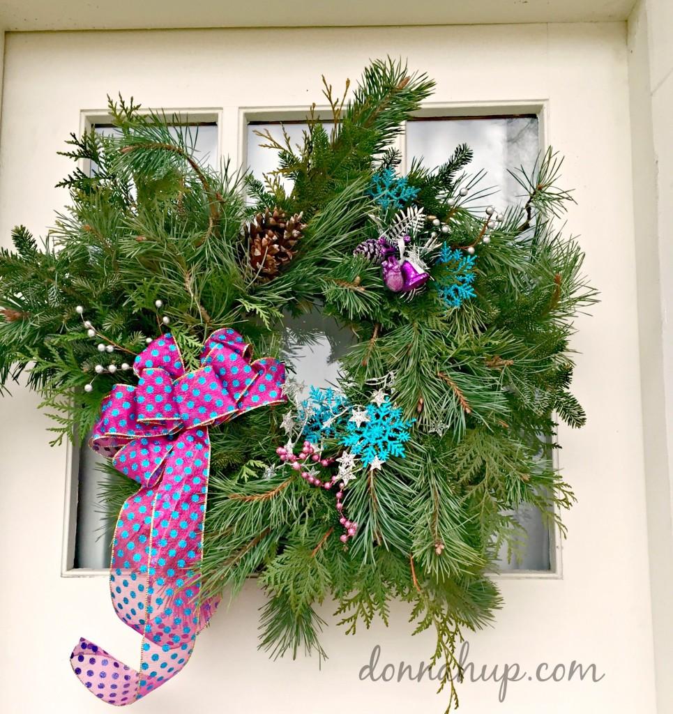 Wreath Making at Carlson Tree Farm #NorthIowaBloggers #DIY #Christmas