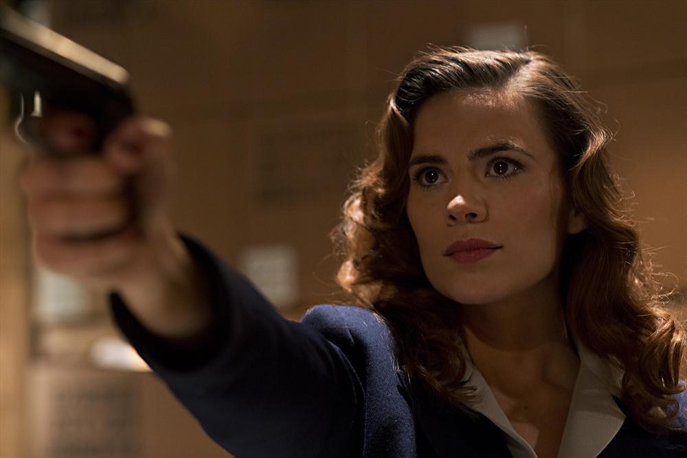 HAYLEY ATWELL An Inside Look at Marvel's Agent Carter #AgentCarter #ABCTVEvent
