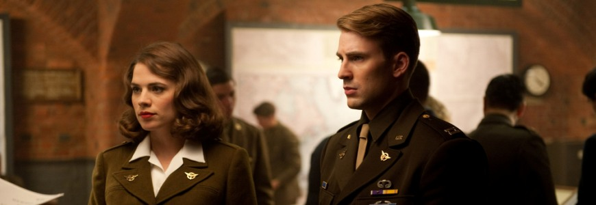 Captain-America-The-First-Avenger-movie-image-Chris-Evans-as-Steve-Rogers-Hayley-Atwell-as-Peggy-Carter An Inside Look at Marvel's Agent Carter #AgentCarter #ABCTVEvent
