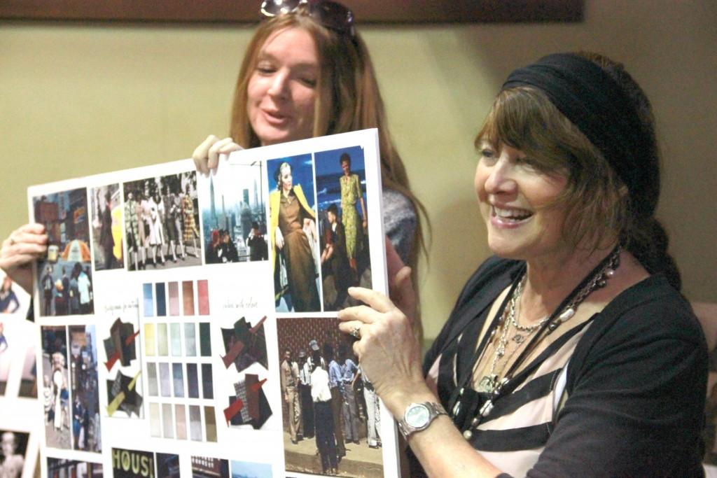 Gigi Melton idea board Meeting Agent Carter and Spending Time on Set #AgentCarter #ABCTVEvent