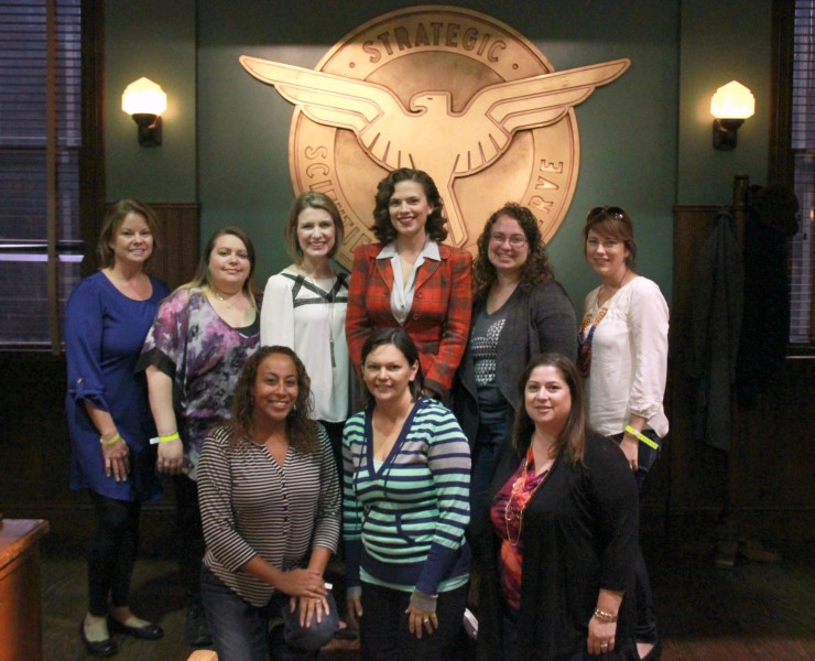 Meeting Agent Carter and Spending Time on Set #AgentCarter #ABCTVEvent