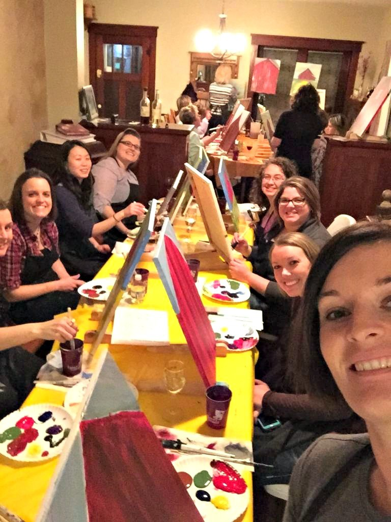 Girls Night out in Hampton #NorthIowa #NorthIowaBloggers #GNO