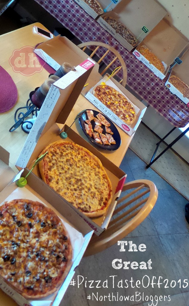 The Great #PizzaTasteOff2015