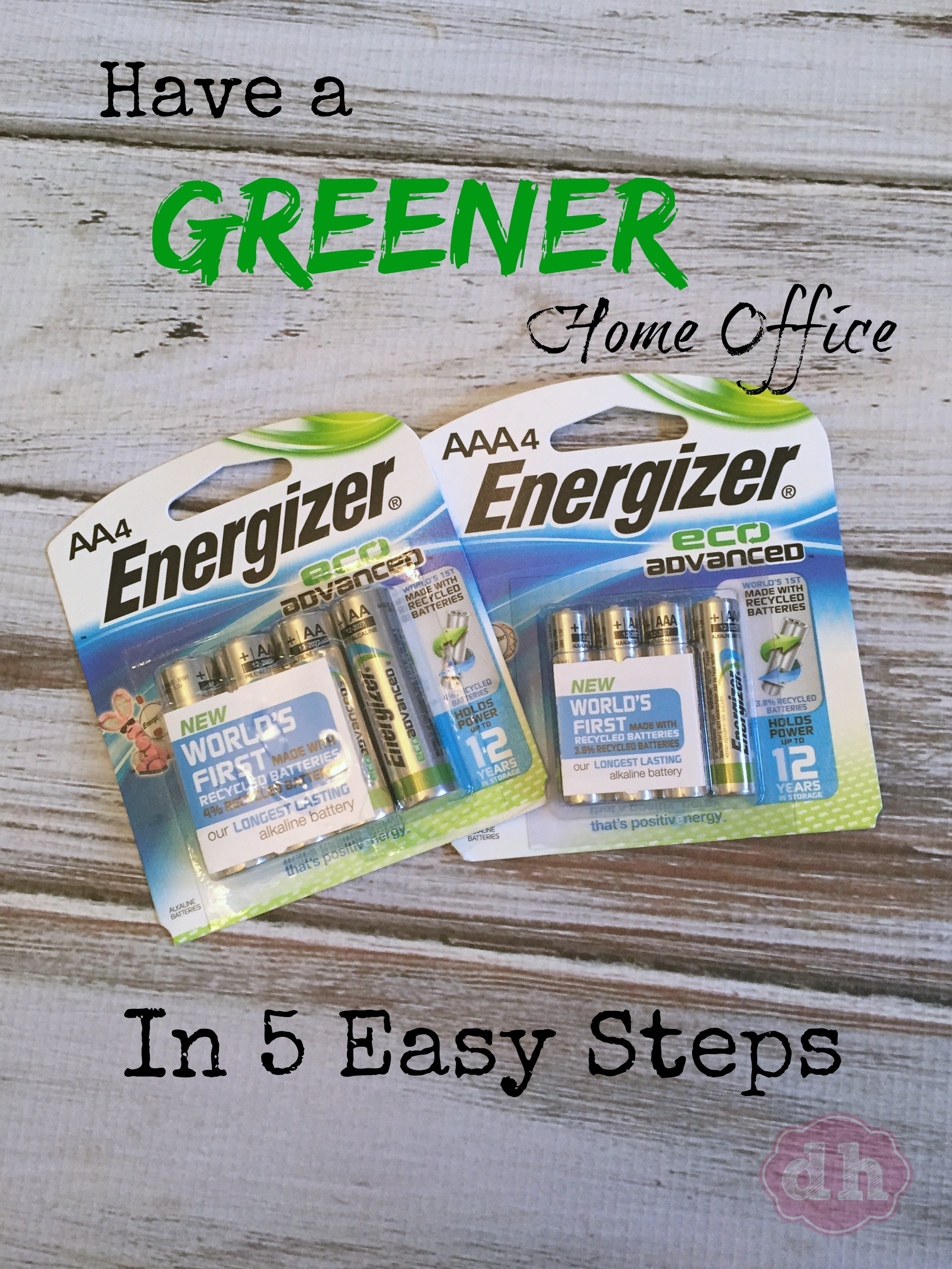 5 Steps to a Greener Home Office