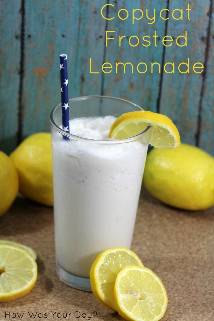 Frosted Lemonade